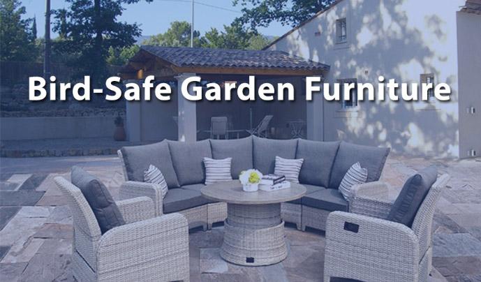 bird safe garden furniture